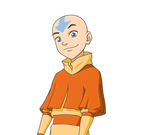 Aang De Avatar La Leyenda De Aang Cartoon Nickelodeon