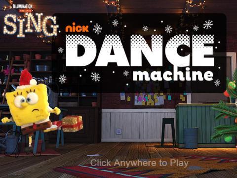 Nickelodeon Dance Machine