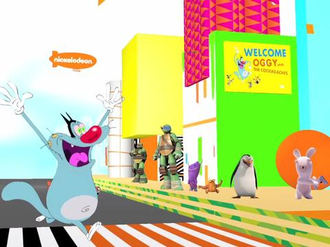 Welcome Oggy to Nickelodeon!