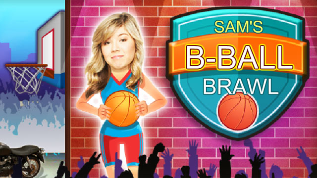 Icarly Sam S B Ball Brawl Nick Asia Com