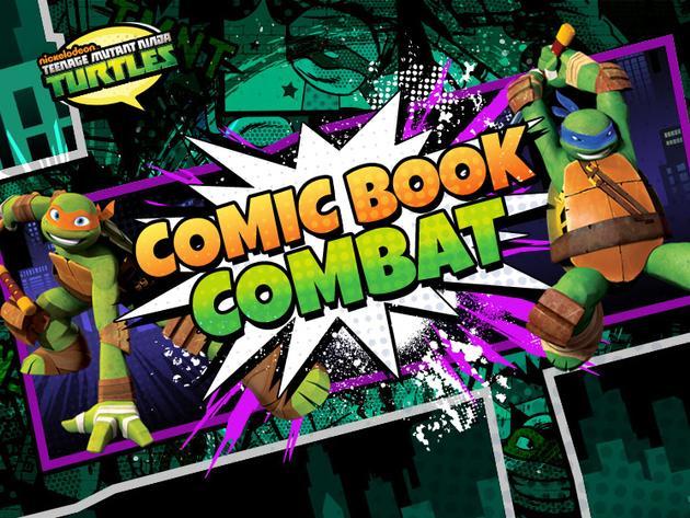 Comic Book Combat