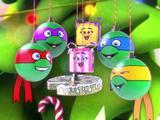 Новогодние игрушки Черепашки-ниндзя