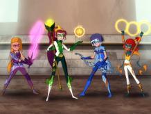 Mysticons Transform!