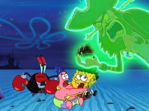 SpongeBob Golden Moment: The Flying Dutchman's Treasure
