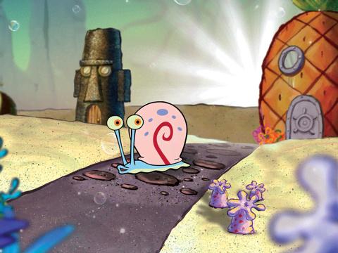 SpongeBob Golden Moment: Snail Love