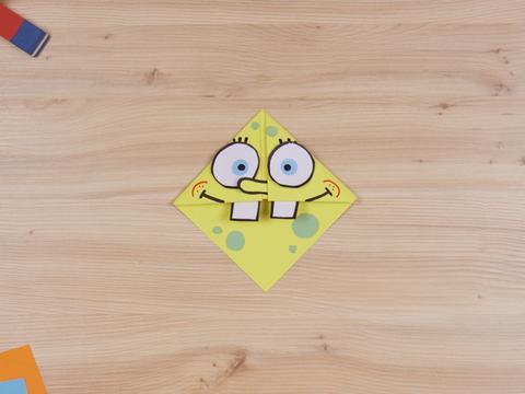 Come fare un segnalibro di Spongebob