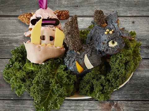 Art en cuisine : Bebop et Rocksteady