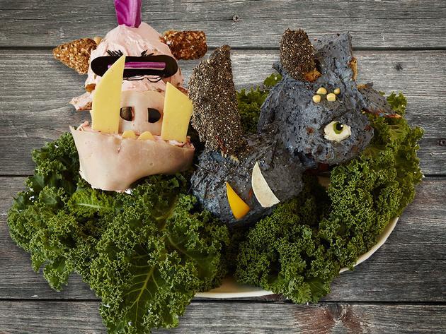 Arte in cucina: Bebop e Rocksteady