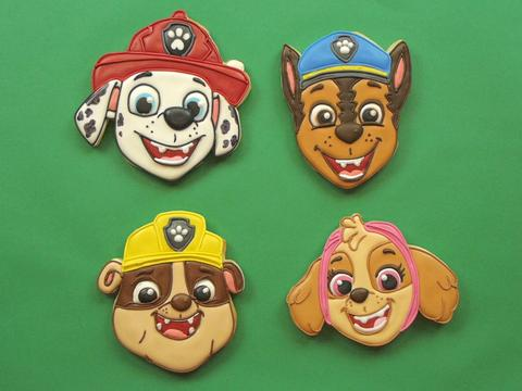 DIY Cookie Art: PAW Patrol