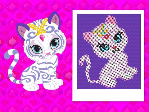 Shimmer and Shine Candy Art