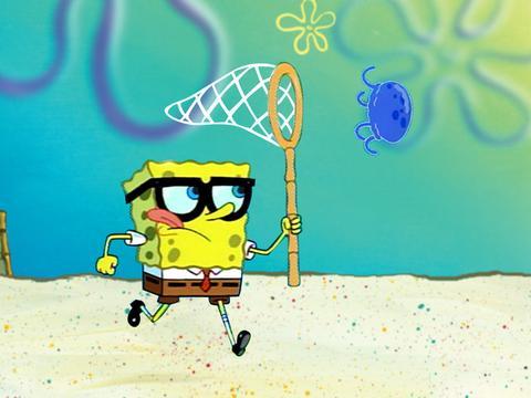 SpongeBob Iconic Moment: SpongeCatching No-Name