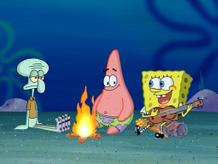 SpongeBob Iconic Moment: Campfire Song