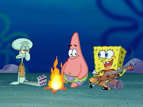 SpongeBob Iconic Moment: Campfire Song