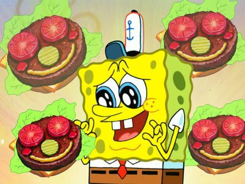 SpongeBob Iconic Moment: Krabby Patty Perfection