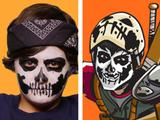 Casey Jones Face Painting