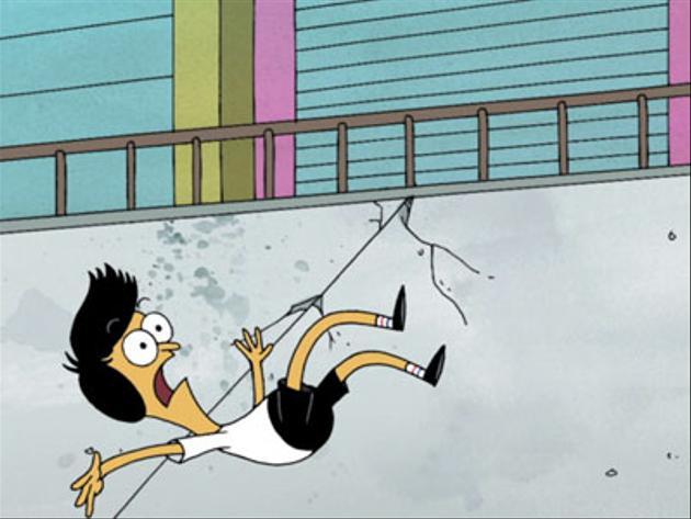 Crazy Cartoon Crashes!