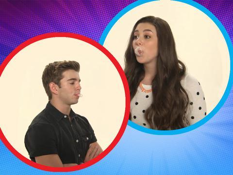 Nick Stars Bubble-Blowing Contest Jack Vs Kira
