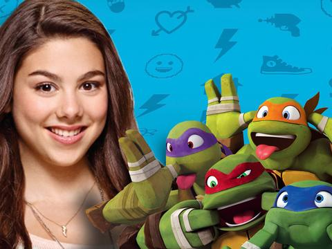 Have a Staring Contest With Kira Kosarin