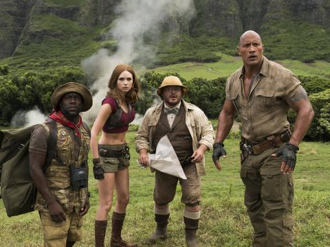 Orange Carpet Edition Spéciale | Jumanji : bienvenue dans la jungle