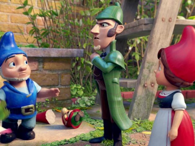 Sherlock Gnomes - Viaje a Londres