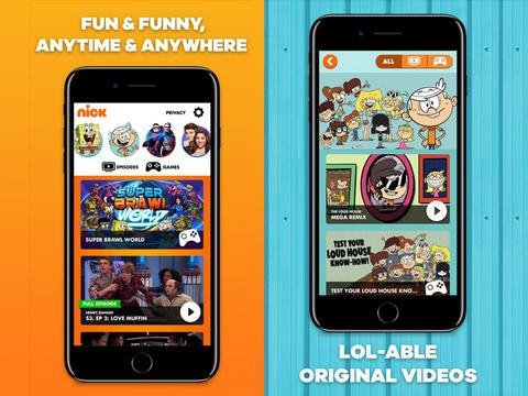 NEW: Nick Play App