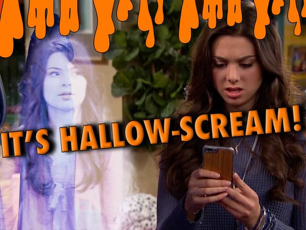 IT'S HALLOW-SCREAM!