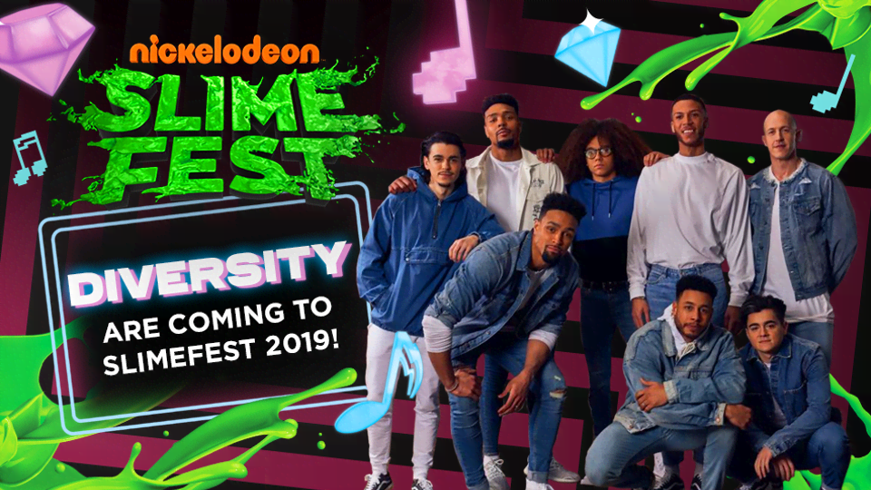 Nickelodeon SLIMEFEST | Kids Festival, Kids Celebrity Video