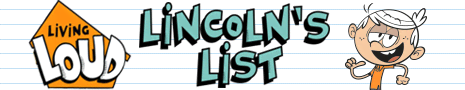 Living Loud: Lincoln's List