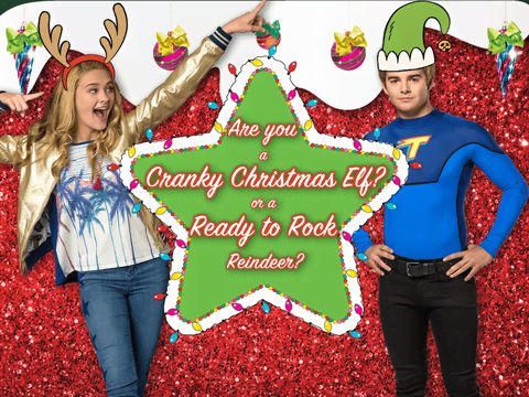 Cranky Christmas Elf or Ready to Rock Reindeer?