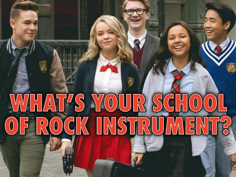 What's your School of Rock Instrument?
