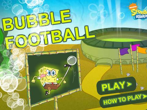 SpongeBob SquarePants: Bubble Football