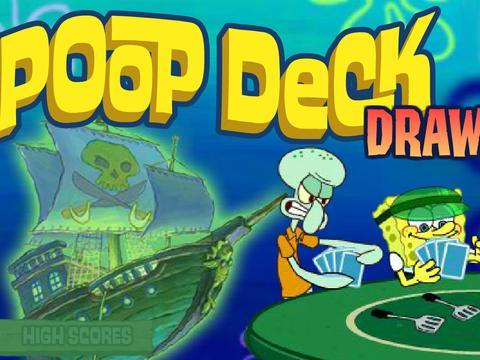 SpongeBob SquarePants: Poop Deck Draw Down