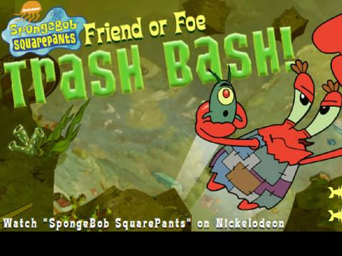 SpongeBob SquarePants: Friend or Foe Trash Bash