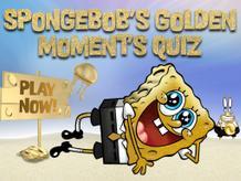 SpongeBob's Golden Moment's Quiz