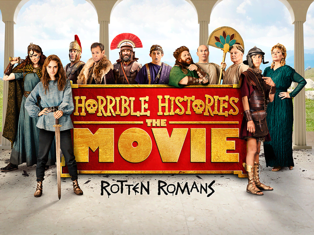 Win a trip to Hadrian's Wall with Horrible Histories!
