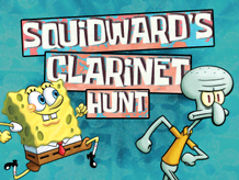 Squidward's Clarinet Hunt