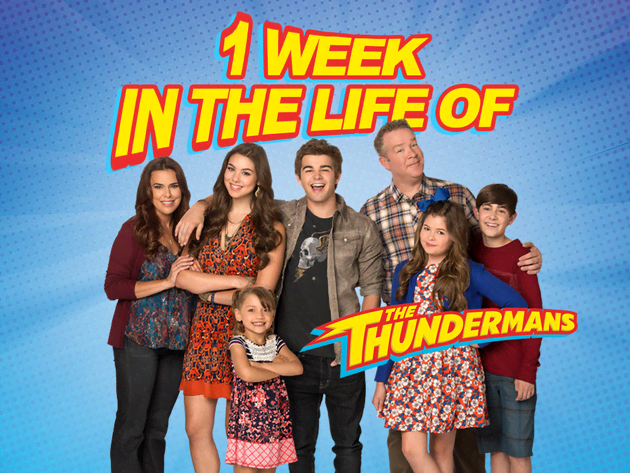 1 Week In The Life Of The Thundermans