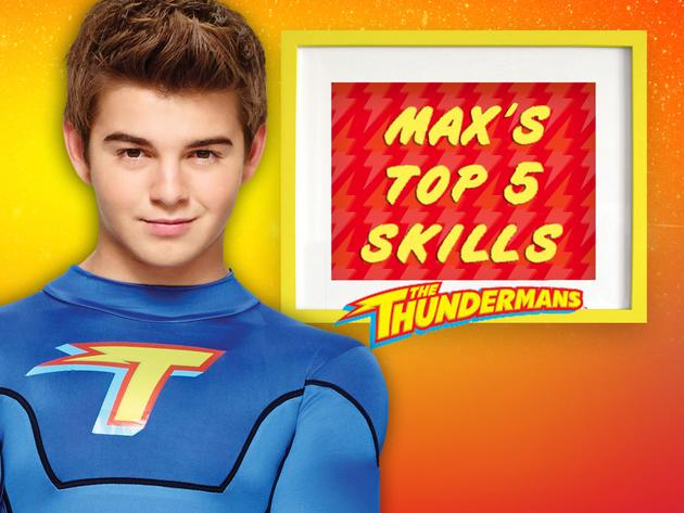 Max's Top 5 Skills