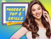 Phoebe's Top 5 Skills