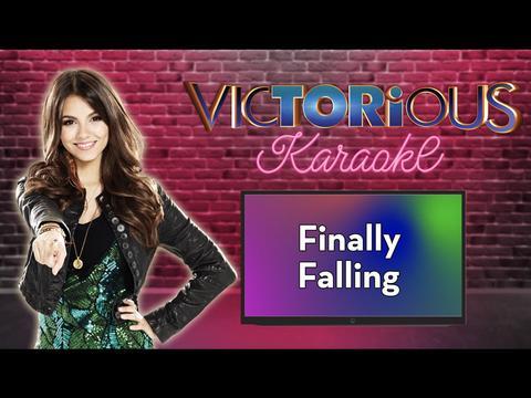 Karaoke:  Finally Falling