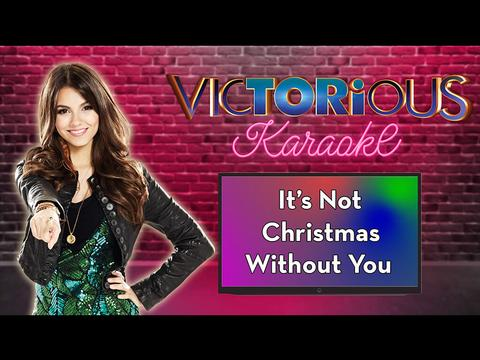 Karaoke: It's Not Christmas Without You