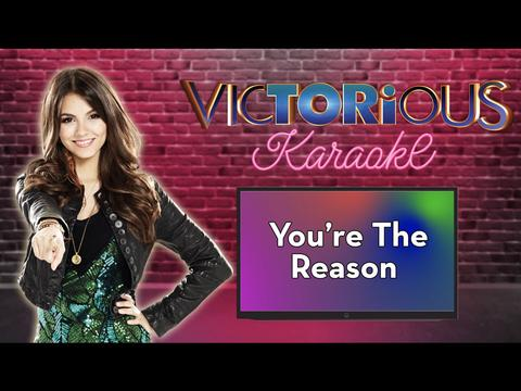 KARAOKE: You're The Reason