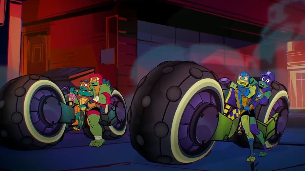 Rise of the TMNT's Funniest Moments from Brand NEW Episodes