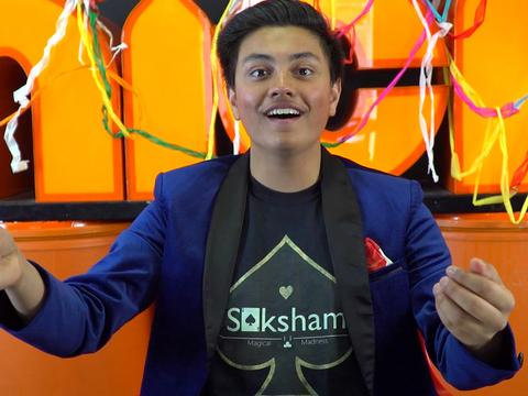 Magic Tricks with Saksham!