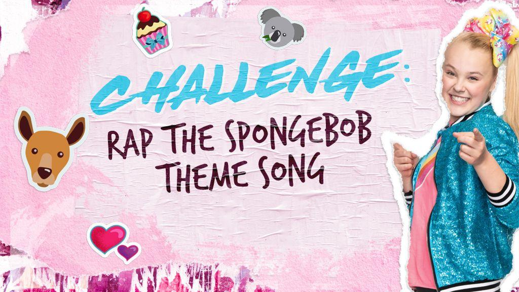 JoJo Raps the SpongeBob Theme Song