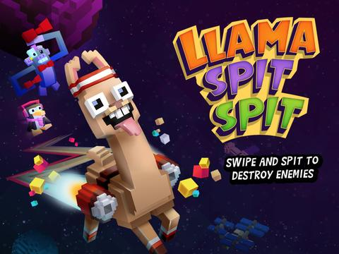 Llama Spit Spit - a GAME SHAKERS App
