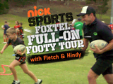 FOXTEL FULL-ON FOOTY TOUR