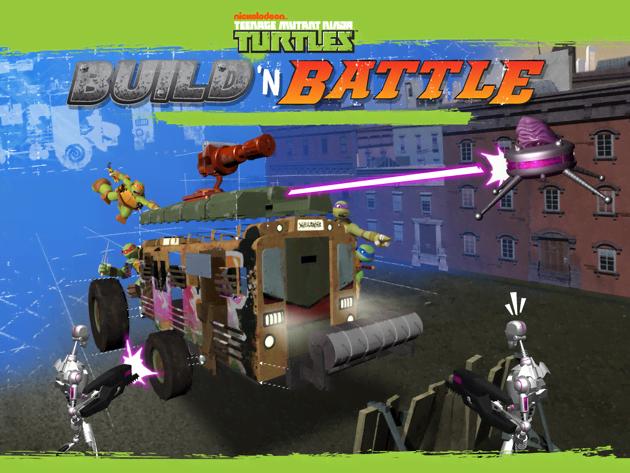 Teenage Mutant Ninja Turtles: Build 'N Battle