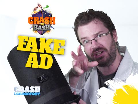 CRASH THE BASH: EPISODE 6 - FAKE AD