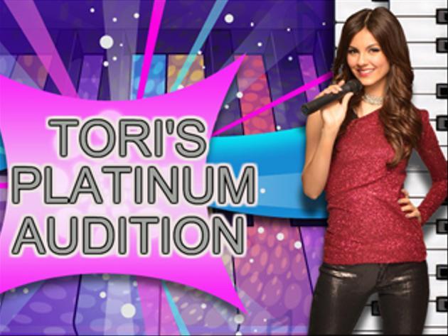 Victorious | Tori's Platinum Audition